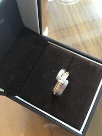 """REDUCED FURTHER"" DIAMOND RING UNIQUE DESIGN. BRAND NEW"