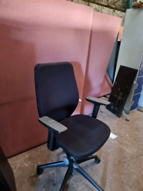 Black executive office chairs