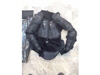 body armour new for motor bike rider also new helmet