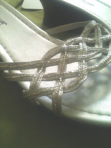 Beaded Sandals, Size 12W