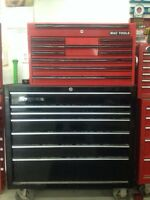 Snap on and Mac tool boxes