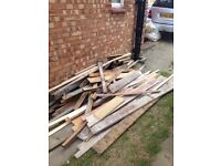 FREE TIMBER-WOOD ALL SHAPES & SIZES
