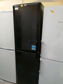 Beko Fridge freezer black A class with warranty at Recyk Appliances