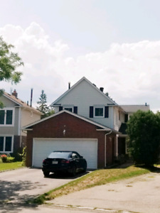 Whitby Detached 3+1, 4 bath Home for Rent $2300