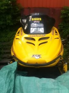 1995 mxz 580 sled for sale or trade for a race quad or 4x4 quad