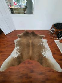 Cow hide/skin rug