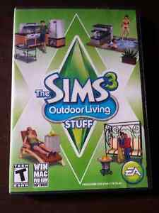Sims 3 Outdoor Living