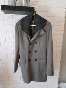 Scotch and soda men's trench over coat