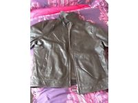 Balman men's leather jacket