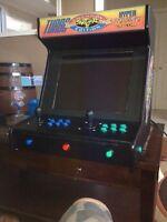 Street fighter themed bar top arcade