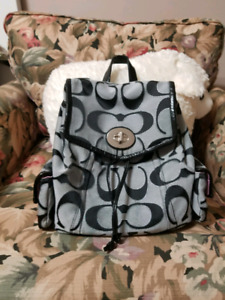 Authentic coach backpack Medium size