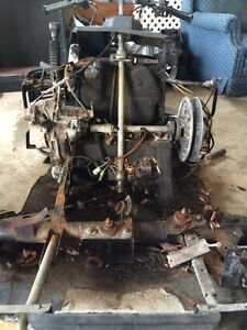Yamaha venture chassis and misc parts