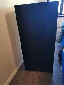 Ikea children's chalkboard wardrobe