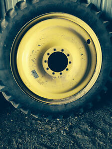 4 - 320/90R46 Firestone High Clearance tires and Rims