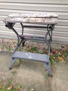 Black and Decker Workmate folding bench Kitchener / Waterloo Kitchener Area image 1