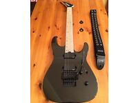 Jackson Pro Dinky DK2RMG-M Metallic Black with Floyd Rose & EMG Pickups