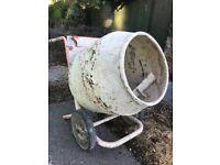 Cement mixer........the money maker