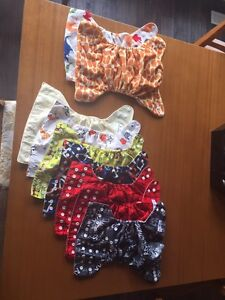 OS Pocket cloth diapers with inserts