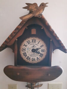 "New England Clock Co's ""American Cuckoo"" clock"