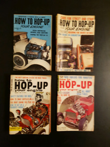 Vintage How to Hop Up Mini Car Magazines from 1960's