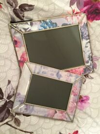 2 x Matthew Williamson Picture Frames