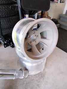 Gasser hot rod wheels chevy pattern
