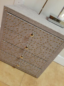 Gorgeous studded accent chest from Urban Barn