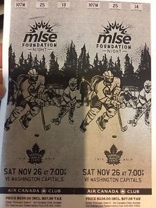 Four Leaf Tickets for Saturday Nov 26 against Washington Kitchener / Waterloo Kitchener Area image 2