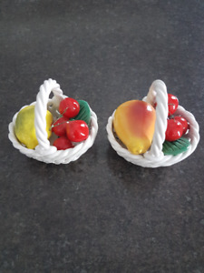 Rouge Royale Ash Tray/Capodi Monte Fruit Baskets