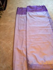 Shear drapes with black out fabric