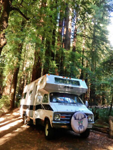 Newly Renovated Vintage Motorhome! SUPER low k's! Fully Equipped