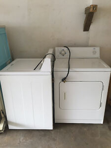 WASHER/DRYER SET FOR SALE