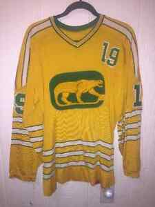 WHA Chicago Cougars RAWLINGS JERSEY Strathcona County Edmonton Area image 1