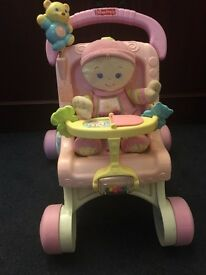 Baby walker/push chair for sale