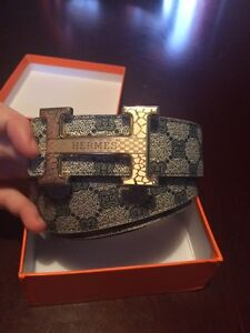 Custom Hermes belt mint condition