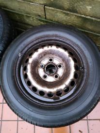 VW Transporter Steel Wheels