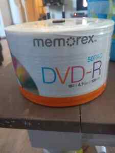 New pack of dvd-R - 50pack