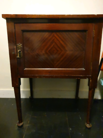 Vintage storage sidetable sideboard solid wood retro mid century