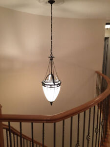 Gorgeous Tall Foyer/Staircase Chandelier