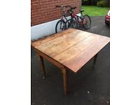 Antique Victorian oak table