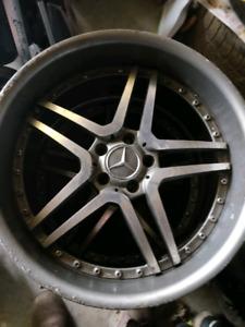 20 Inch Mercedes Benz rims