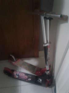 Small Scooters $15.  Firm For Both