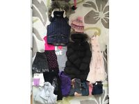 Girls Giant Bundle Of Girls Clothes Age 7-8 years And Shoes