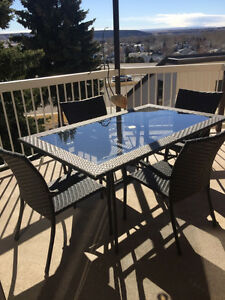 Patio Set - table and 4x chairs