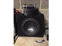 Juice sub with amp