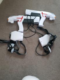 Laser x gun game