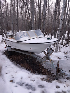 Older boat no leaks and runs great