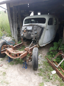 RARE 1935 Packard touring car NEED GONE