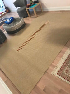 Rug, made of Sisal Natural Material, PET FREE, DUST FREE, 2x3 me