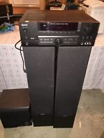 Speakers and Receiver $60.00 OBO *Pick up only*